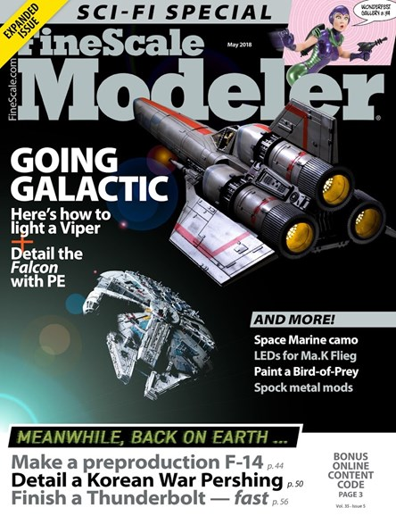 Finescale Modeler Cover - 5/1/2018