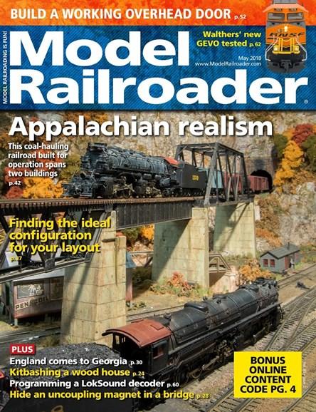 Model Railroader Cover - 5/1/2018