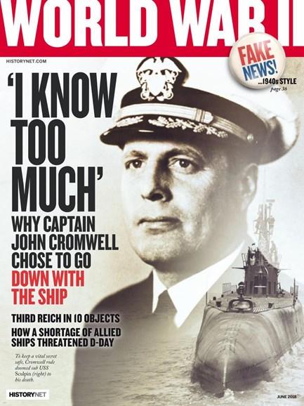 World War II Cover - 6/1/2018