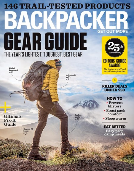 Backpacker Cover - 4/1/2018