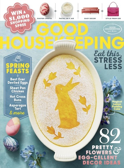 Good Housekeeping Cover - 4/1/2018
