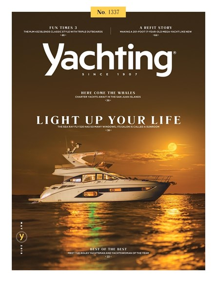 Yachting Cover - 5/1/2018