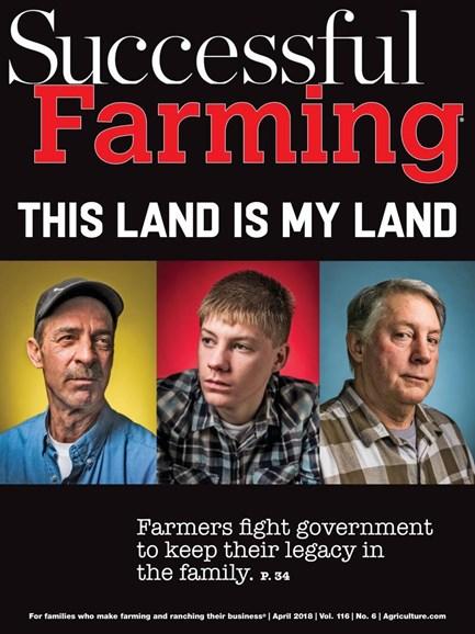 Successful Farming Cover - 4/1/2018