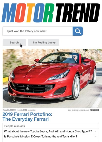 Motor Trend Cover - 5/1/2018