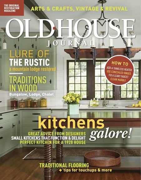 Old House Journal Cover - 3/1/2018
