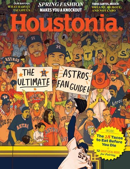 Houstonia Cover - 4/1/2018