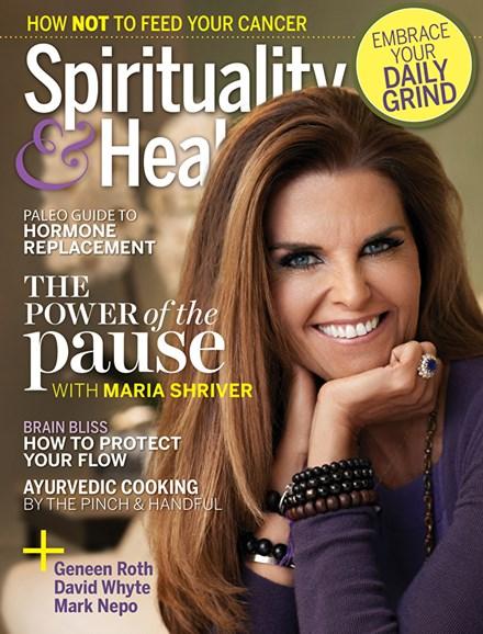 Spirituality & Health Cover - 3/1/2018