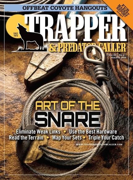 Trapper & Predator Caller Cover - 8/1/2016