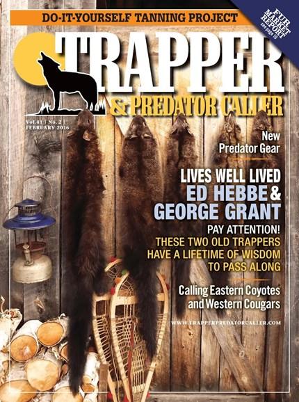Trapper & Predator Caller Cover - 2/1/2016