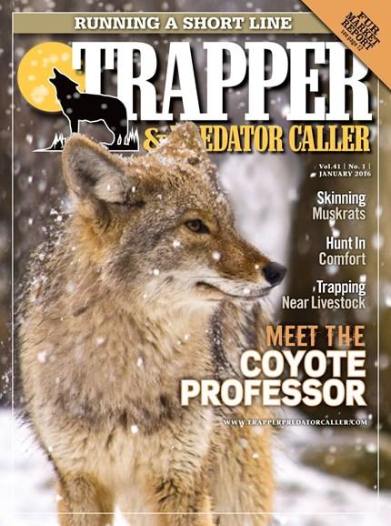 Trapper & Predator Caller Cover - 1/1/2016