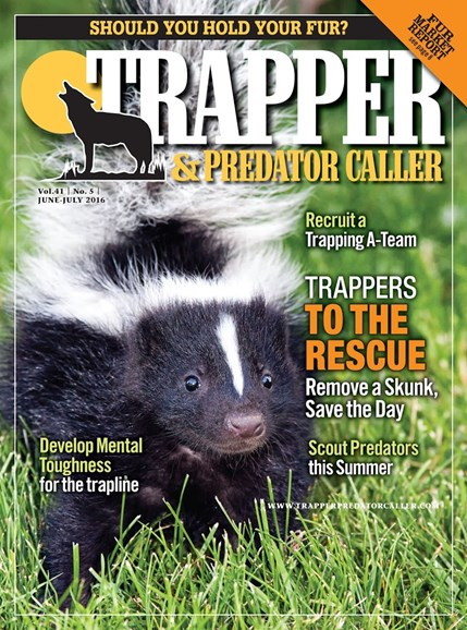Trapper & Predator Caller Cover - 6/1/2016