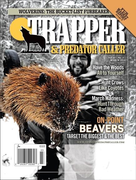 Trapper & Predator Caller Cover - 3/1/2016