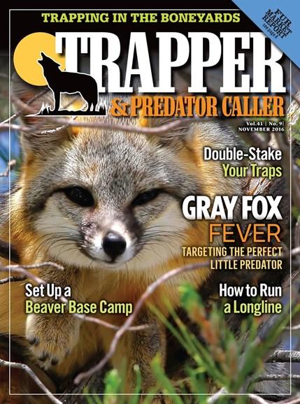 Trapper & Predator Caller Cover - 11/1/2016