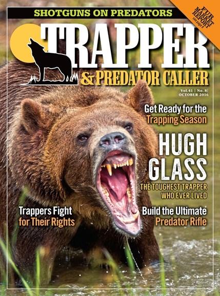 Trapper & Predator Caller Cover - 10/1/2016