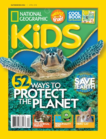 National Geographic Kids Cover - 4/1/2018