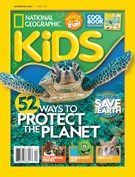 National Geographic Kids Magazine 4/1/2018