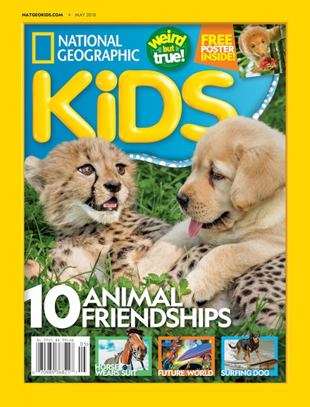National Geographic Kids Cover - 5/1/2018