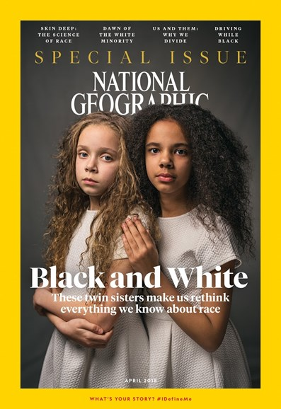 National Geographic Cover - 4/1/2018