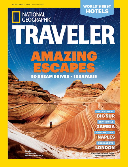 National Geographic Traveler Cover - 4/1/2018