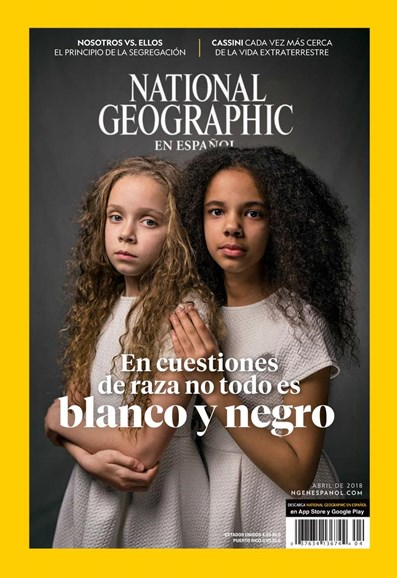 National Geographic En Español Cover - 4/1/2018