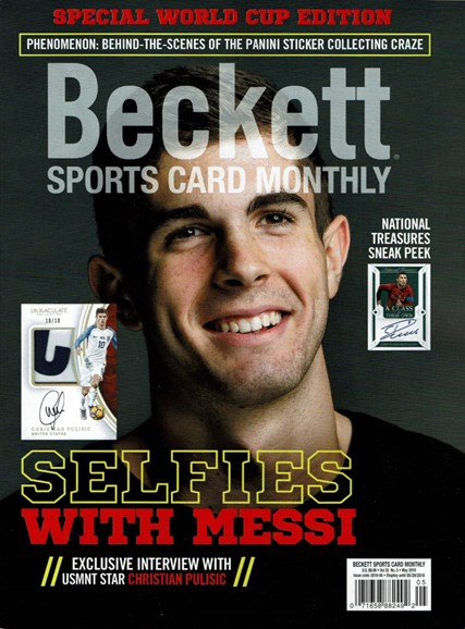 Beckett Sports Card Monthly Cover - 5/1/2018