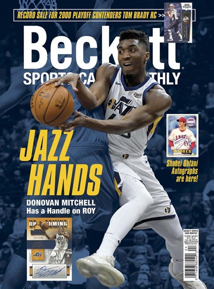 Beckett Sports Card Monthly Cover - 4/1/2018