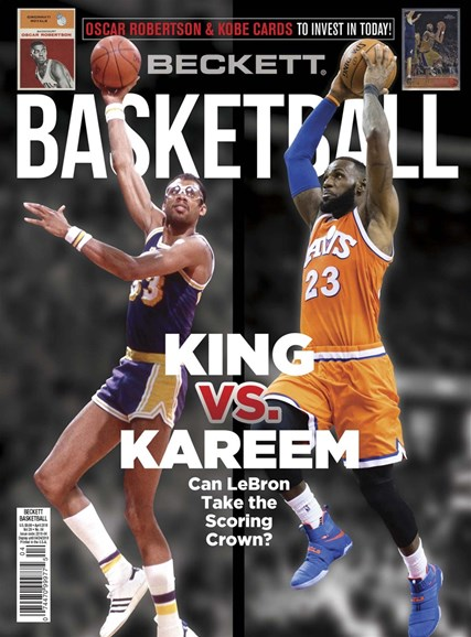 Beckett Basketball Cover - 4/1/2018