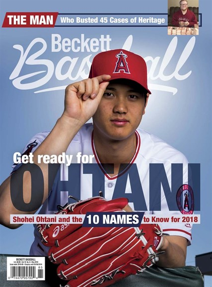 Beckett Baseball Cover - 5/1/2018