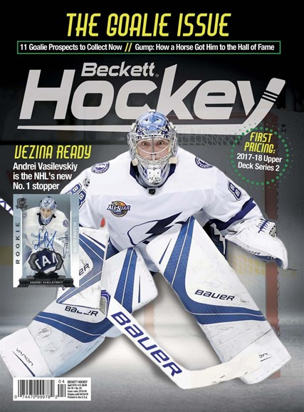 Beckett Hockey Cover - 4/1/2018