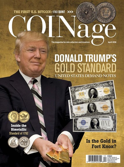 Coinage Cover - 4/1/2018