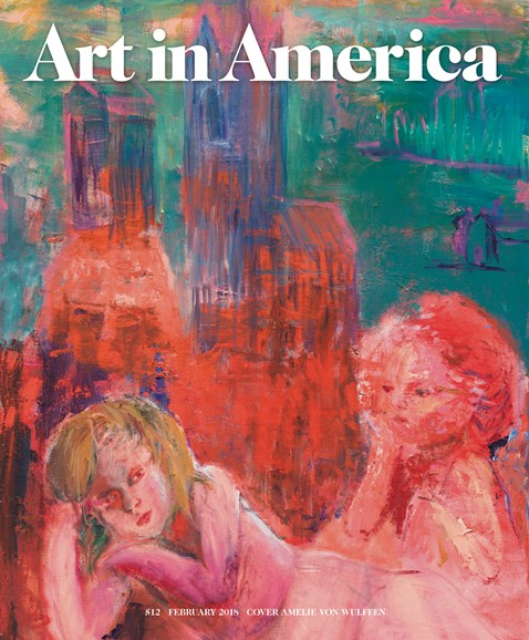 Art In America Cover - 2/1/2018