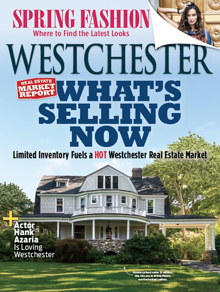 Westchester Magazine Cover - 4/1/2018