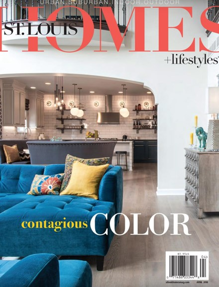 St. Louis Homes & Lifestyles Cover - 4/1/2018