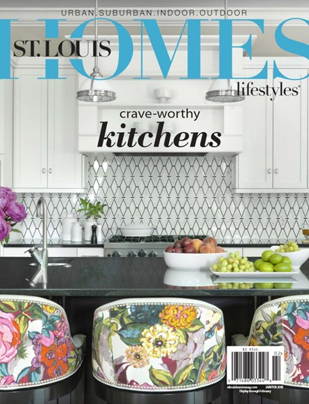 St. Louis Homes & Lifestyles Cover - 1/1/2018