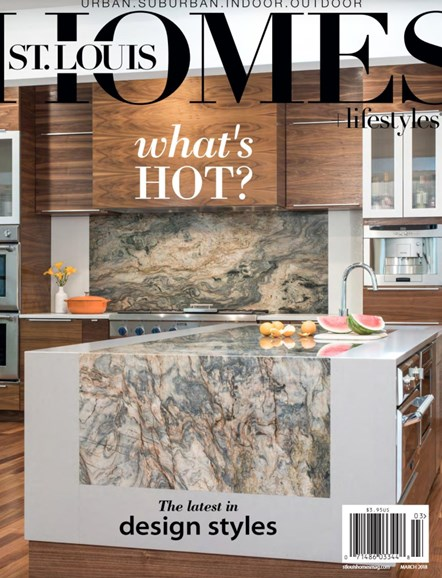 St. Louis Homes & Lifestyles Cover - 3/1/2018