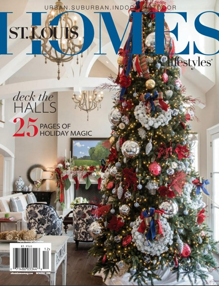 St. Louis Homes & Lifestyles Cover - 11/1/2017