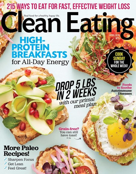 Clean Eating Cover - 4/1/2018