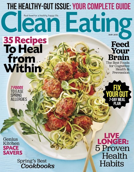 Clean Eating Cover - 5/1/2018