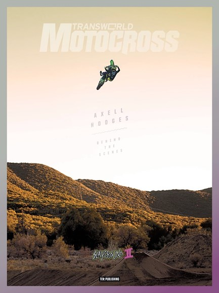 Transworld Motocross Cover - 4/1/2018
