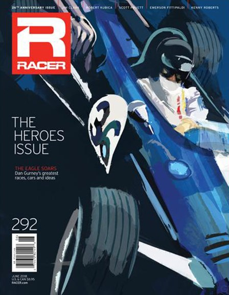 Racer Cover - 6/1/2018