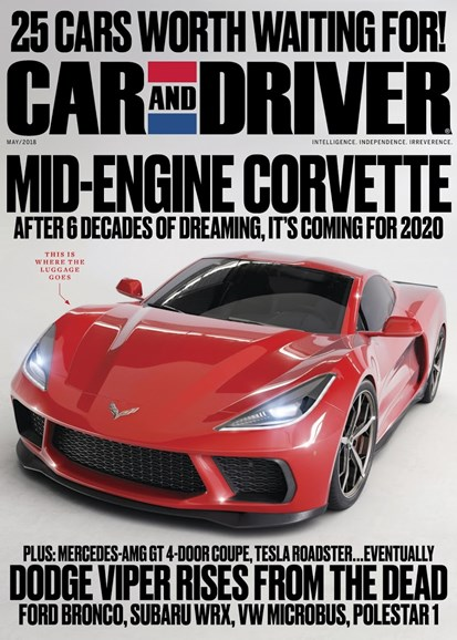 Car And Driver Cover - 5/1/2018
