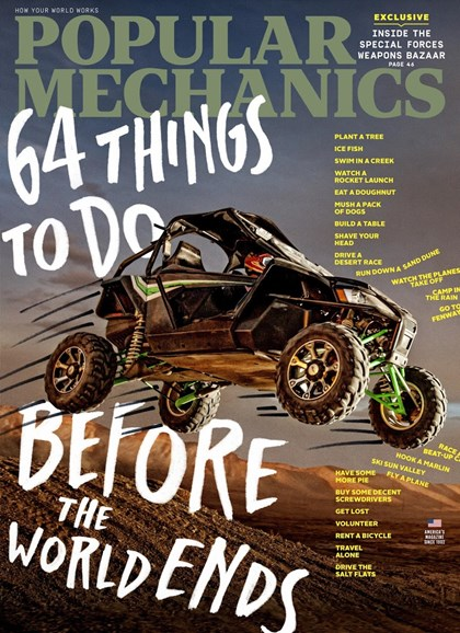 Popular Mechanics Cover - 5/1/2018