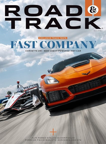 Road & Track Cover - 5/1/2018