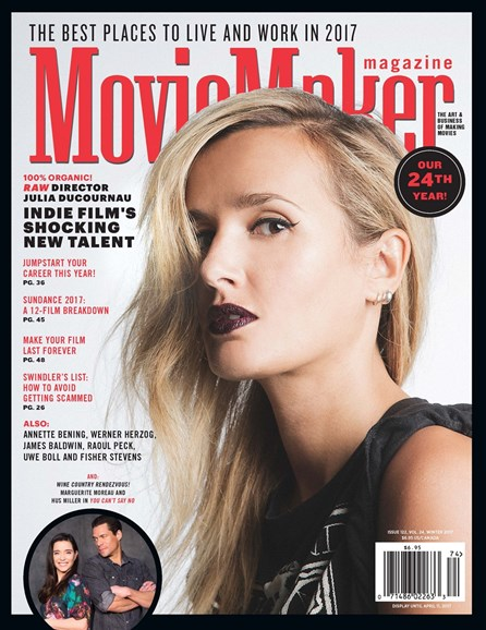 Moviemaker Magazine Cover - 1/1/2017