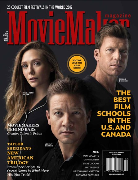 Moviemaker Magazine Cover - 7/1/2017