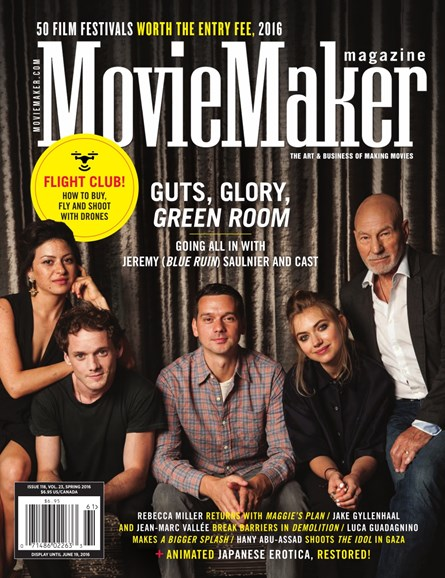 Moviemaker Magazine Cover - 4/1/2016