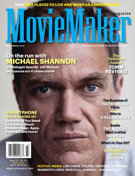 Moviemaker Magazine Cover - 1/1/2016