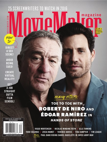 Moviemaker Magazine Cover - 7/1/2016