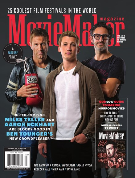 Moviemaker Magazine Cover - 9/1/2016