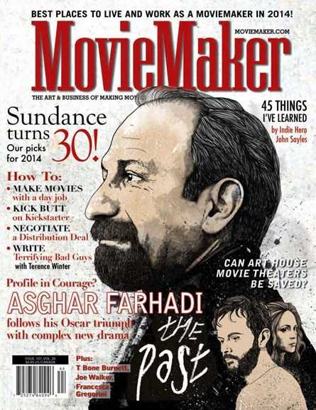 Moviemaker Magazine Cover - 1/1/2014